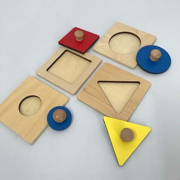 Single Shape Puzzle - Square