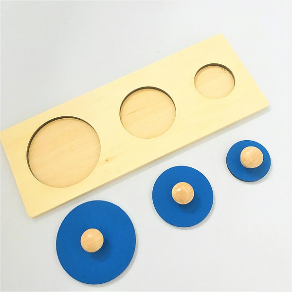 Multiple Shape Puzzle - 3 Sizes of Circles