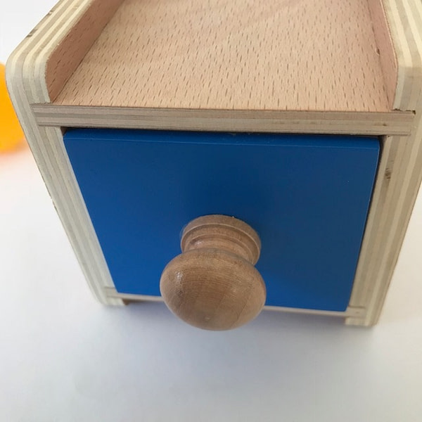 Object Permanence Box with Drawer - CH