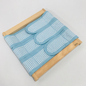 Infant Dressing Frame: Velcro Closure