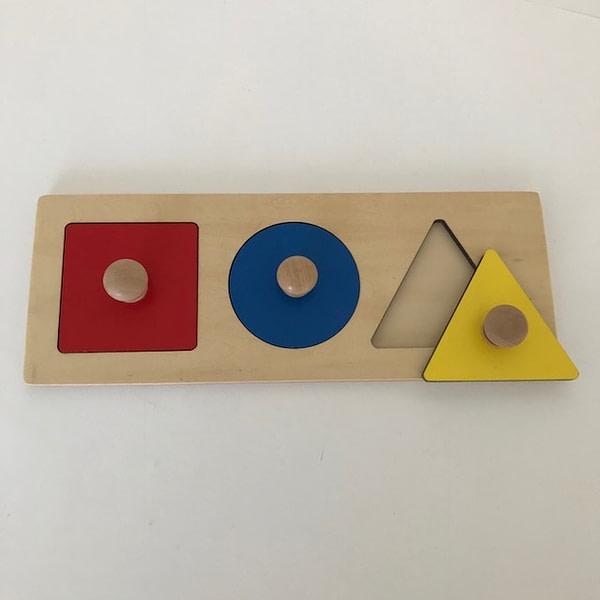 Multiple Shape Puzzle - Square, Circle & Triangle