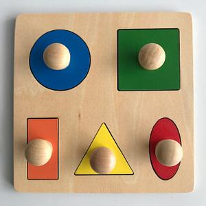 Geometric Puzzle Board