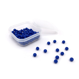 Set of 100 Blue Beads