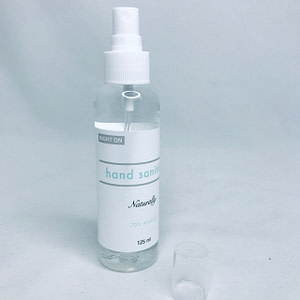 Hand Sanitizer - 125ml - Liquid Spray - 70% Alcohol
