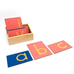 The Sandpaper Letters - Print