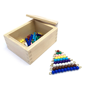 Box with lid to Store Beads