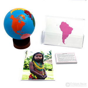 South America Continent Cards