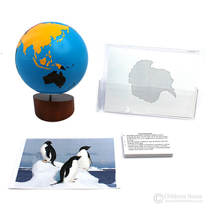 Antartica Continent Cards