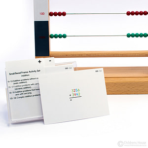 Small bead frame activity set
