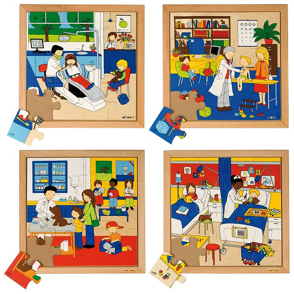 My Health Puzzles - Set of 4