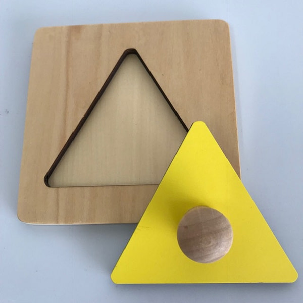 Single Shape Puzzle - Triangle
