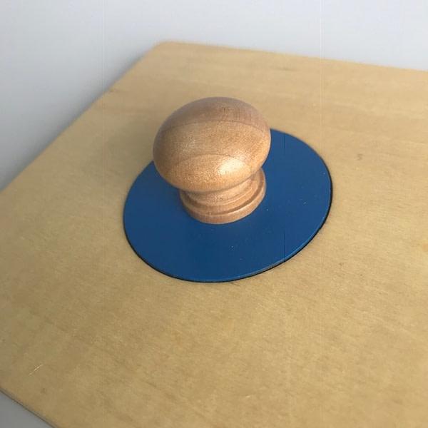 Single Shape Puzzle - Small Circle